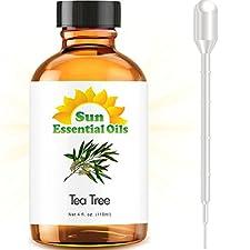Tea Tree - LARGE 4 OUNCE - 100% Pure Essential Oil (Best 4 fl oz / 118 ml)