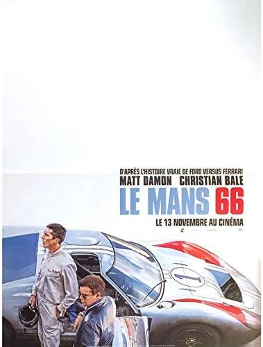 Amazon De Lemans 66 Filmplakat 39 X 53 Cm 2019 Christian Bale Ford Vs Ferrari