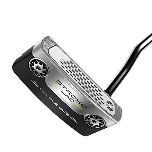 Odyssey Golf 2019 Stroke Lab Double Wide Putter, 35' Shaft, Oversized Grip, Left Hand