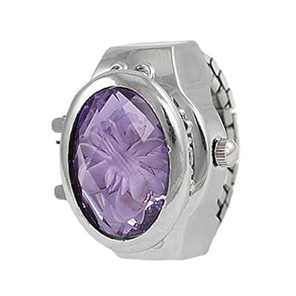 Amazon.com: Gleader Banda Flor Inlay Hunter Caso reloj de ...