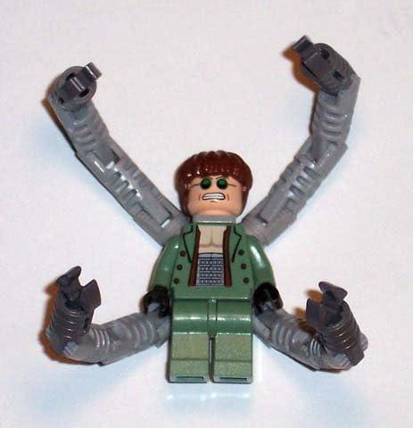 "Doc Ock- Lego Spiderman 2"" Minifigure: Dr. Octopus"