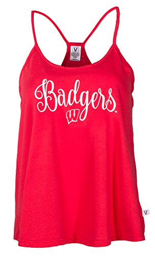 Wisconsin Badgers Lamp (NCAA Wisconsin Badgers Rik HI-LO Lampshade Tank T-Shirt, Medium, Red)
