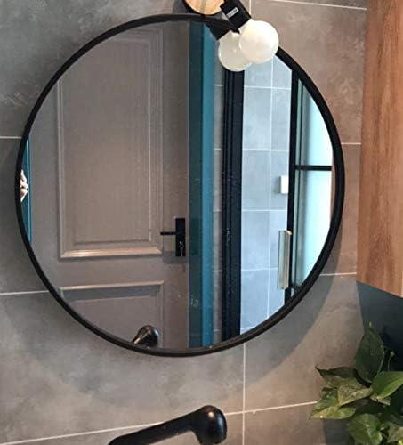 taille : 60 cm miroir mural blanc 60//70 // 80cm miroir rond de salle de bain en fer forg/é Miroir