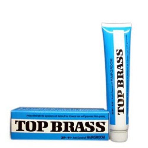 Top Brass ZP-11 Crème Anti pellicules des cheveux (crème) (pack de 3)