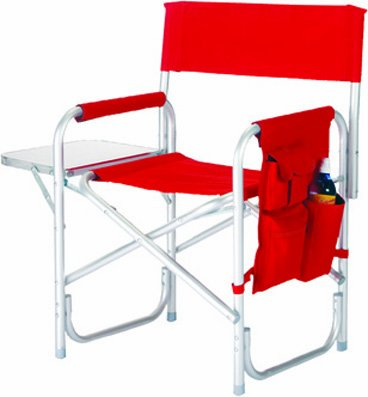 Picnic Plus Directors Sport Chair With Folding Side Table & Side Panel Pockets (Picnic Plus Directors Chair)