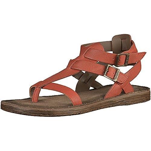 Bonjouree Tongs Sandales Femmes Talon Compens/é Flip Flops Slippers