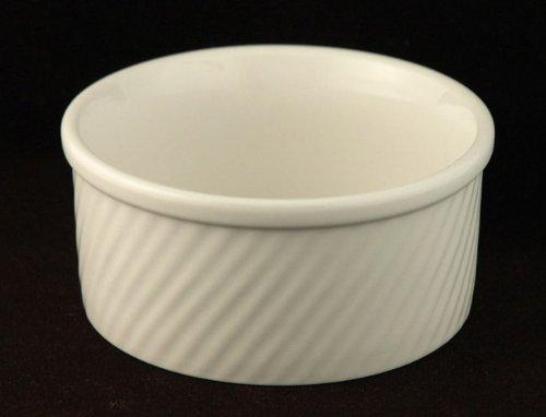 World Tableware 32 Oz Swirl Fluted Souffle (SOU-32),(2 pack)