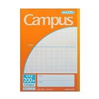 1 X Cuaderno de práctica de kanji japonés No. 6 200 plazas campus por Kokuyo