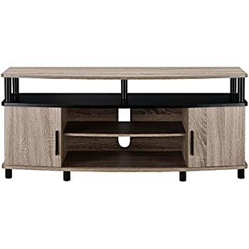 Ameriwood Home Carson TV Stand For 50 Inch TVs (Sonoma Oak)