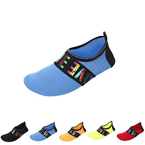 Run Shoes LUYI Mens Blue Shoes Womens Shoes Quick Socks Lightweight Surf Aqua Water Swim Beach wz Yoga Dive Dry JACKY Skin Sports B0xZwdB