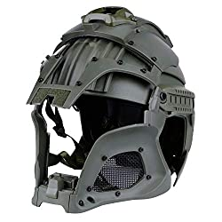 Helmet Tactical Military Airsoft Paintball PC Lens Tactical Helmet Full-Covered Helmet Accessories CS War-Game Shooting