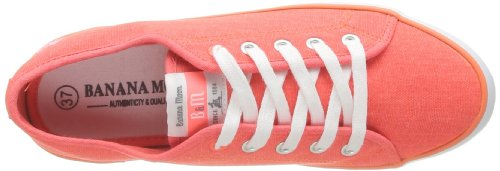 Banana Moon Chelsey, Damen High-Top Sneaker Orange - Orange (Corail)