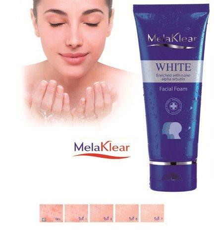 Melaklear White Enriched with Nano Alpha Arbutin Anti-Melasma Facial Foam 80 G