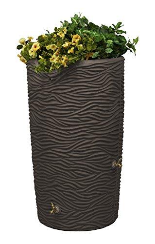 Good Ideas Imp-L65-Oak Impressions Palm Rain Saver, 65 Gallon, Oak (Landscaping Pavers Ideas Patio)
