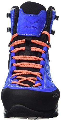 Salewa Mens Rapace Gtx Alpinistenlaars | Bergbeklimmen, Alpine Klimmen, Alpine Trekking | Gore-tex Waterdicht Ademende Voering, Compatibel Met Stijgijzers, Duurzame Nubuck Bovenzijde Royal Blue / Papavero