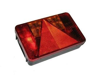 Radex 5800 Anh/änger R/ückleuchte rechts Inkl Leuchtmittel