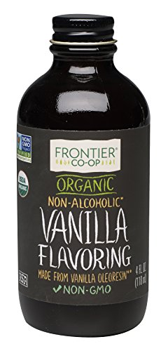 Frontier Organic Vanilla Flavoring, 4 Ounce (Vanilla Extract Pure Organic)