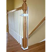 Safety Innovations No Hole Stairway Baby Gate Mounting Kit (Gate Not Included)