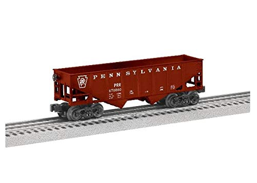 Lionel Pennsylvania Hopper, Electric O Gauge Model Train Cars, 6-Pack