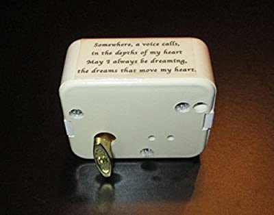 Always with Me From Spirited Away - Collectable Music Box Movement - Quality 18 Note Sankyo Harp with 2 Octave Range - Anime
