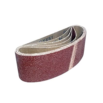 Cloth Sanding Belts 60 x 400mm 40 Grit Pack of 5 Toolpak