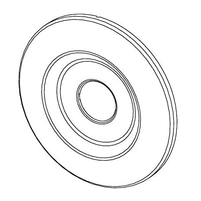Pfister 960-045 Classic 08 / 09 / R89 Series Round Wall Flange,