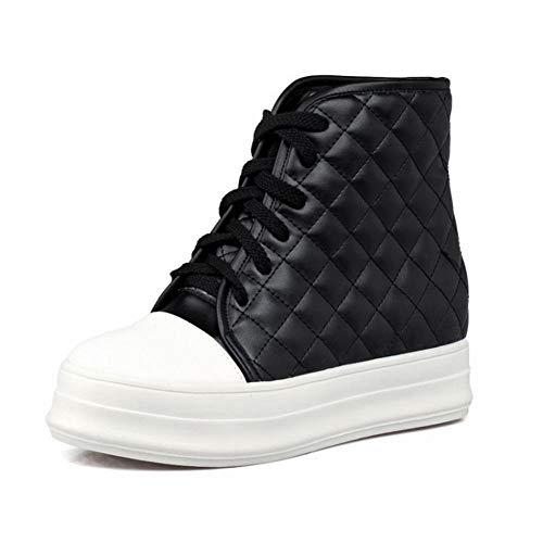 43 36 Da Caldo In Nero Piatto A Tubo Zj Alta Inferiore Studenti Di Donne Velluto Scarpe Più Le Sneakers Cotone S' spessore 'scarpe Fondo tUEgvEw5Wq