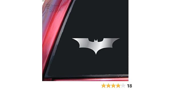 Adhesivo Batman Begins / vinilo El caballero Oscuro pegatina, cromo brillante