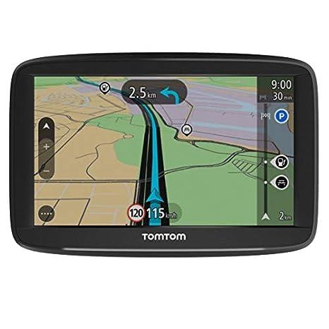 TomTom Start 52 - Navegador para coche, 5 pulgadas, mapas de la UE para toda la vida y pantalla resistiva [Reacondicionado - certificado oficial]