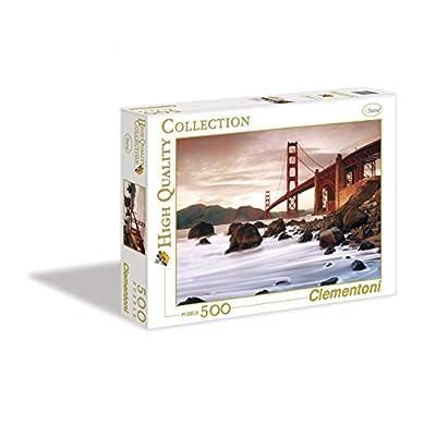 Clementoni Puzzle 30105 San Francisco 500 Pezzi High Quality Collection