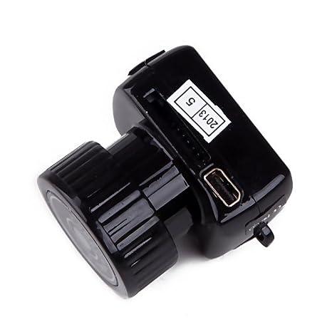 HDE - Más pequeño Tiny grabación de vídeo digital DVR Micro cámara: Amazon.es: Bricolaje y herramientas