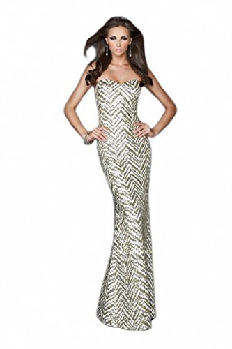 Buy long prom dress by la femme - 5