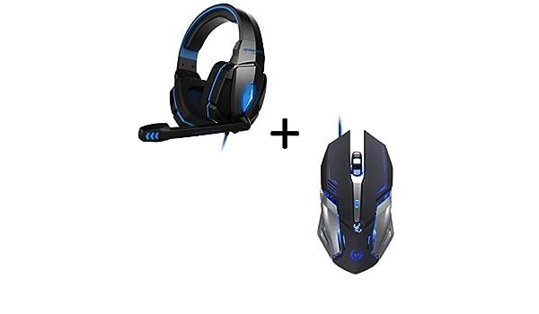 Shot Case Pack Gaming para PC MSI (Ratón Metal Gamer 6 Botones + Auriculares Gamer con micrófono y Mando a Distancia): Amazon.es: Electrónica