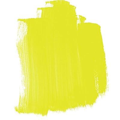 Golden High Flow Acrylic Paint, 16 Ounce, Fluorescent Chartreuse