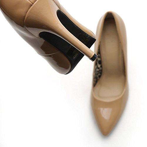 Women's Leopard D'Orsay Blush Elegant Print Dress Shoe Color Heel Ollio Inside Pump High Multi UAwgqxC