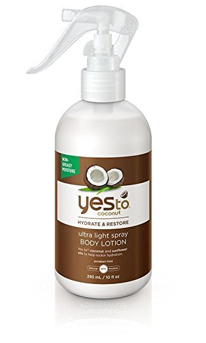 Yes To Coconut Hydrate & Restore Ultra Light Spray Body Loti