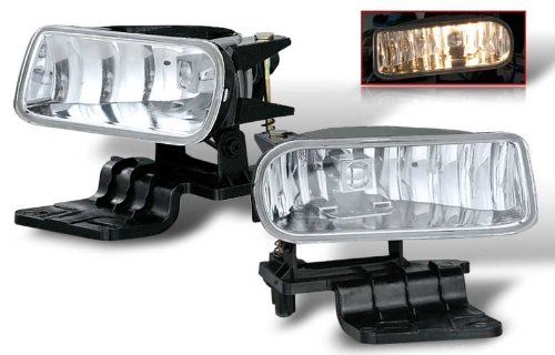 2500 Replacement Fog Light (99-02 CHEVY SILVERADO 1500 & 2500 OEM FOG LIGHT - CLEAR)