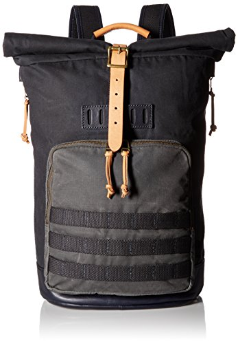 Fossil Men's Defender Roll Top Backpack, Navy - Fossil Top