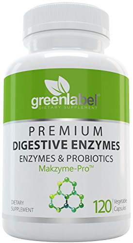 Digestive Enzymes Supplement Plus Probiotics & Prebiotics [120 Capsules], Natural Support for Better Digestion and Lactose Absorption, Helps Constipation & Gas Relief, IBS, Leaky Gut, Diarrhea, Reflux
