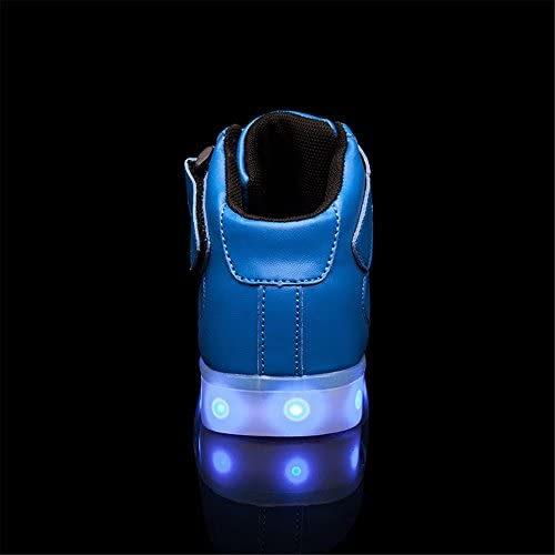 DoGeek Boys Girls Light up Trainers Big Kids Unisex - 4