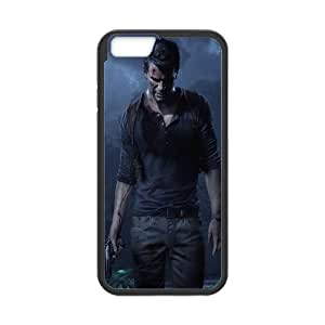 Uncharted 4 A Thief's End Uncharted iPhone 6 6s Plus 5.5 Inch Cell Phone Case Black 91INA91269225