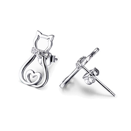 YFN Sterling Silver Women Earrings