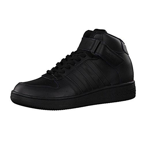 adidas TEAM COURT MID - Zapatillas deportivas para Hombre, Negro - (NEGBAS/NEGBAS/NEGBAS) 44
