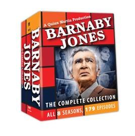 Barnaby Jones Complete Collection 8 Seasons 179 Episodes - Hutch Collection
