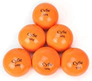 Cyfie Weighted Hitting Batting Balls, 6 Packs Practice Softballs Heavy Balls for Hitting, Batting, Pitching, S