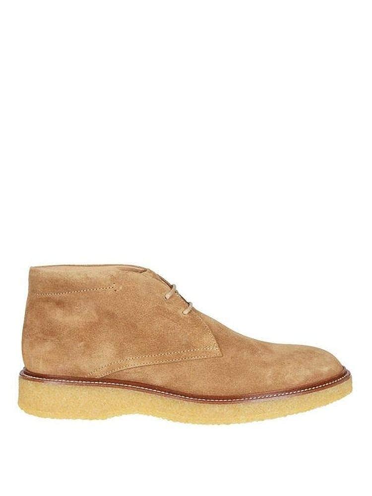 - Tod& 039;s Herren XXM16B00D80RE0C801 Beige Stoff Desert Stiefel