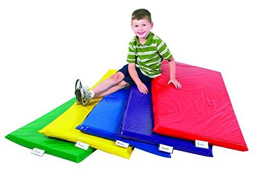 Children's Factory Rainbow Rest Mats - Set of 5 Colors Classroom Furniture - CF350-034