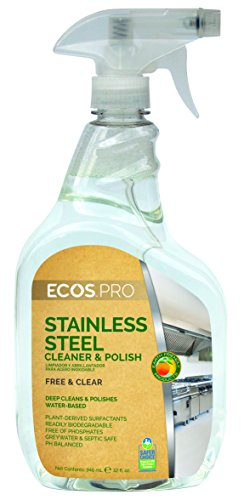 Polish Six - ECOS PRO PL9330/6 Stainless Steel Cleaner and Polish (Pack of 6)