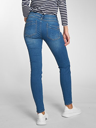 Sublevel Donna Fit Slim Pearl jeans Jeans Blu FanpHqF
