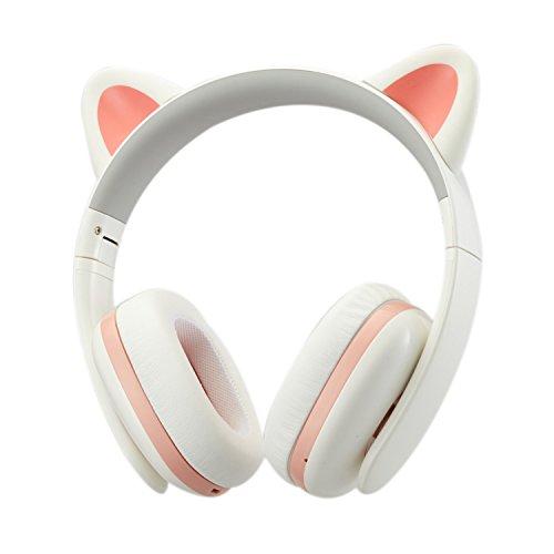 Bluetooth Cat Ear Headphones Amazon